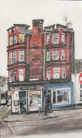 Anne Mcaulay-Edmond, 'Our Corner Shop'