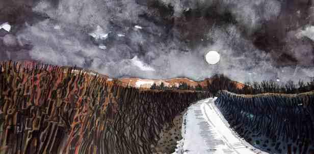 Dennis Lewis, Brecon 2, storm