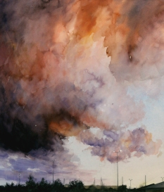 Phillip Clarke, Cloud study (Loughborough)