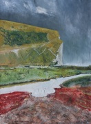 Guy Beggs, Cuckmere Haven storm at sea