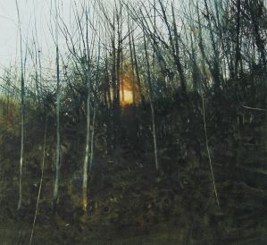 David A Parfitt RI, 'Quarry Sun'