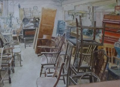 David Greenwood, 'Chair Repair'