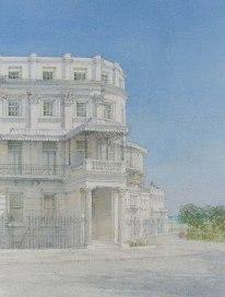 Dennis Roxby Bott, 'Lewes Crescent Brighton'