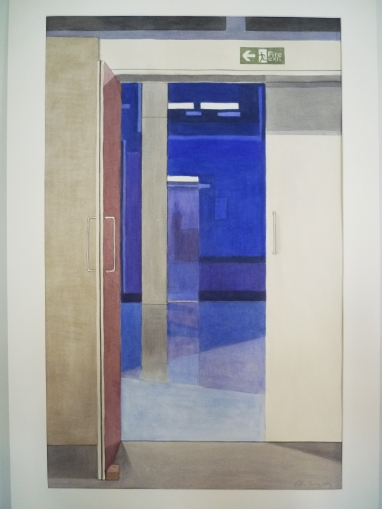 Peter Fleming, Jarman's Blue at the Chelsea Space
