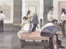 John Hunt, 'Sunday Afternoon at the National Gallery'