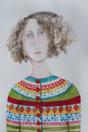 Judith Logan, 'The Artist's New Cardigan'