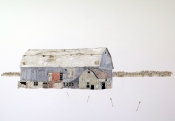 Kate Evans, 'Dutch Barn in Winter'