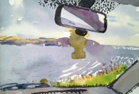 Danny Markey, Rear view mirror and blue ship