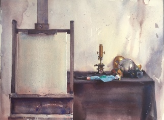 Robbie Wraith, 'Studio Interior 1'