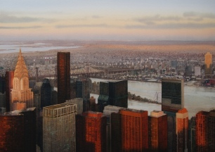 Janet Kenyon, Sunset over Manhattan