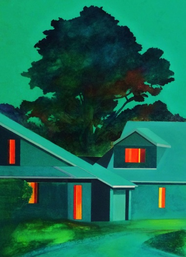 Teresa Lawler, 'Dream House on the Edge of Town'