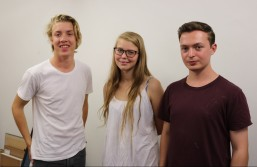 The Art Handlers: Barney Gammond, Phoebe Baines, James Collins