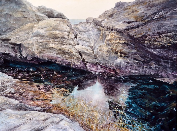 'Tidal Rhythms', Deborah Walker RI, Sunday Times Watercolour Competition 2016 Exhibitor