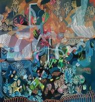 Ashley Amery, 'Erosion & Regrowth', £850