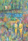 Julie Barnes, 'Something's off in Eden...', £900
