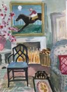 Lottie Cole, 'Interior with Moonlight Jockey', £950