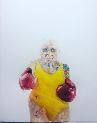 Adam De Ville, 'Security in old age', £550