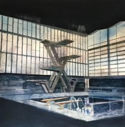 Richard Anthony Elliott, 'Diving Boards, Crystal Palace', £2,500