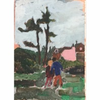 Bobbye Fermie, 'Last weeks walk through the park', £145