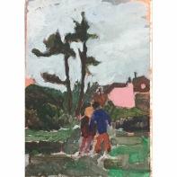 Bobbye Fermie, 'Last weeks walk through the park', £145
