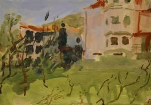 Nikki Gardham, 'Houses on the Peninsula', £700