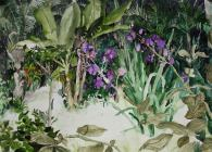 Jelly Green, 'Beyond the Tibouchina Plant', £1,400