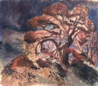 Imogen Guy, 'Hillside view of tree', £420