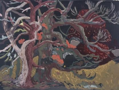 Imogen Guy, 'Trees in Kilpatrick', £420