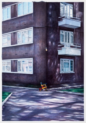 Frank Laws, 'Cazanove Road', £4,200