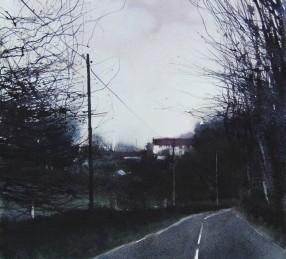David A Parfitt, 'Ghost House', £800